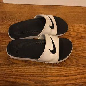 9b8e1bce78106 Nike Shoes - Nike Kids Pool Slides Sandals Size 13